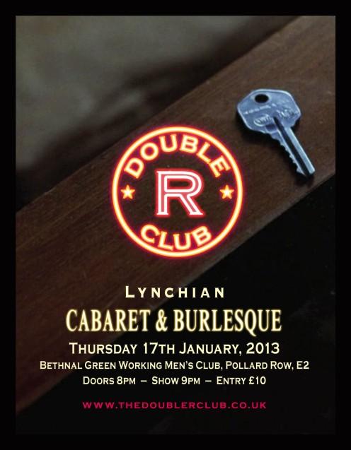 Double R Club, January, 2013