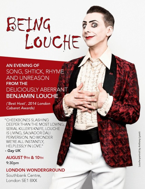 Being Louche 2016 - flyer front